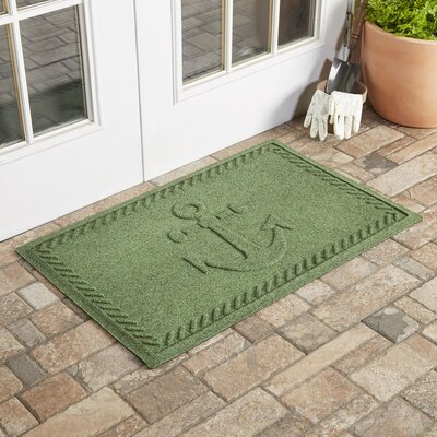 Darrow Anchor Doormat Color: Light Green