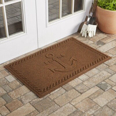 Darrow Anchor Doormat Color: Dark Brown