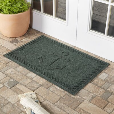 Chadbourne Ships Anchor Doormat Color: Evergreen