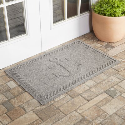 Darrow Anchor Doormat Color: Medium Gray