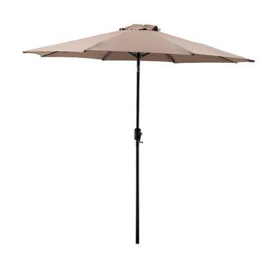 Georgiana 9 Market Umbrella Color: Brown