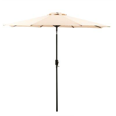 Georgiana 9 Market Umbrella Color: Tan