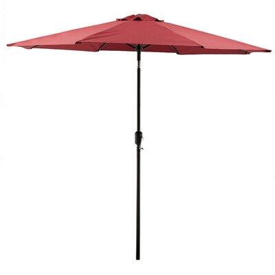 Georgiana 9 Market Umbrella Color: Burgundy