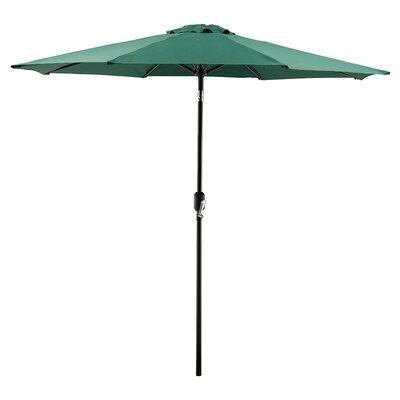 Georgiana 9 Market Umbrella Color: Hunter Green