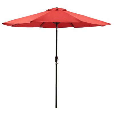 Georgiana 9 Market Umbrella Color: Red