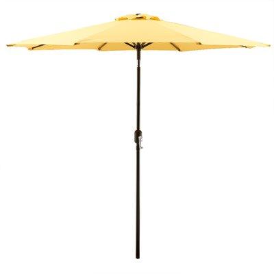 Georgiana 9 Market Umbrella Color: Yellow