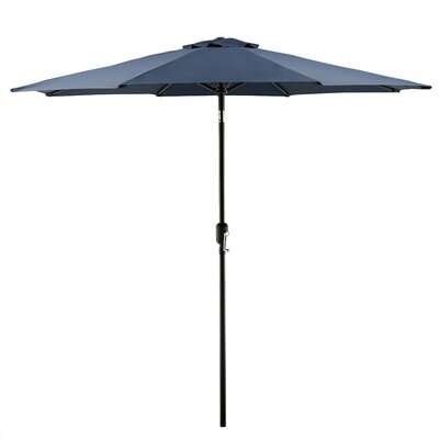 Georgiana 9 Market Umbrella Color: Navy
