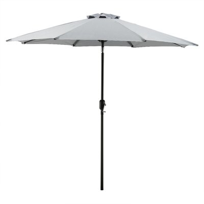 Georgiana 9 Market Umbrella Color: Grey