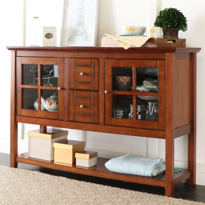 Sylar 52 TV Stand Color: Rustic Brown
