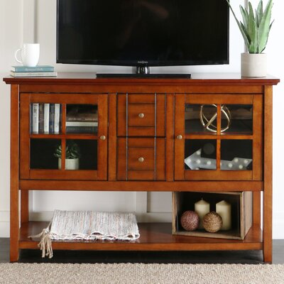 Landsdowne TV Stand Finish: Rustic Brown