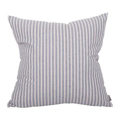 Felles Stripe Cadet Throw Pillow