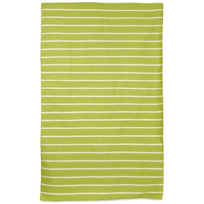 Ranier Hand-Woven Lime/Green/Ivory Indoor/Outdoor Area Rug Rug Size: Rectangle 83 x 116