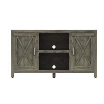 Dodson 53 TV Stand with Optional Fireplace Fireplace Included: No