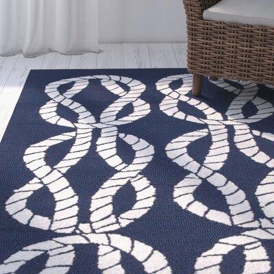 Sandtown Blue/White Indoor/Outdoor Area Rug