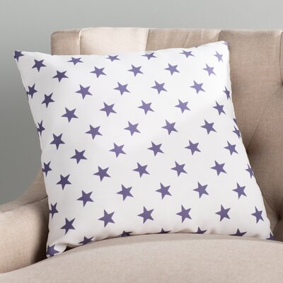 Fayetteville Americana II Indoor/Outdoor Throw Pillow Size: 18 H x 18 W x 4 D, Color: Blue