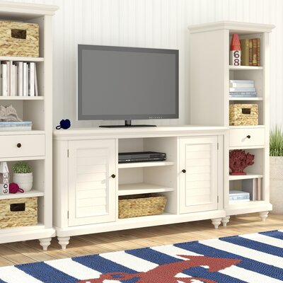 Harrison Entertainment Center Color: Brushed White
