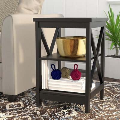 Washington End Table Finish: Black