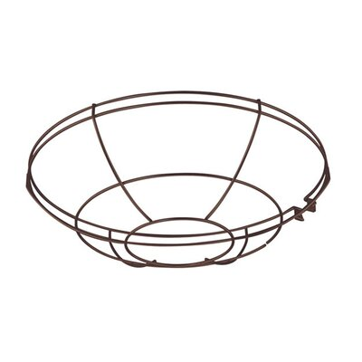 Sally Wire Guard Lenses & Filters Size: 2.5 H x 10 W, Finish: Satin Red