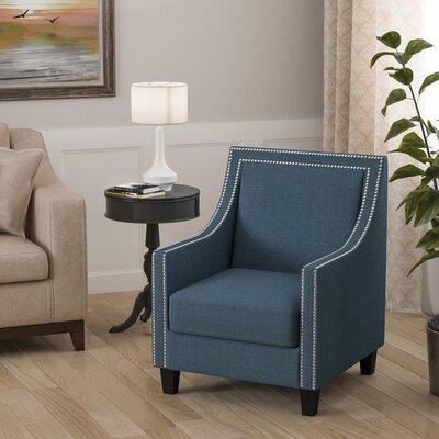 Aubine Armchair Upholstery: Blue