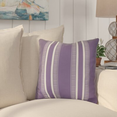 Mundell Throw Pillow Size: 18 H x 18 W x 3 D, Color: Purple
