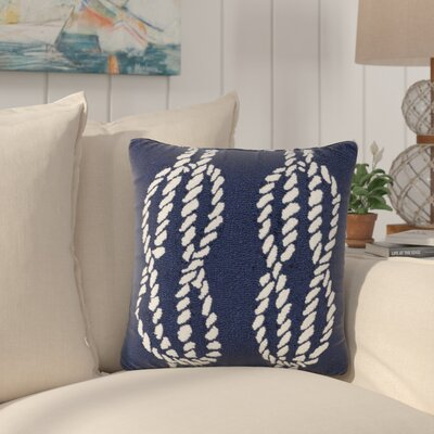 Lowes Ropes Indoor/Outdoor Throw Pillow | 50 Nautical Inspired Ideas For Home Decor | Inexpensive Nautical Decor | DIY Home Decor | theMRSingLink