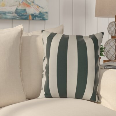 Westfield Stripe Throw Pillow Size: 20 H x 20 W, Color: Green