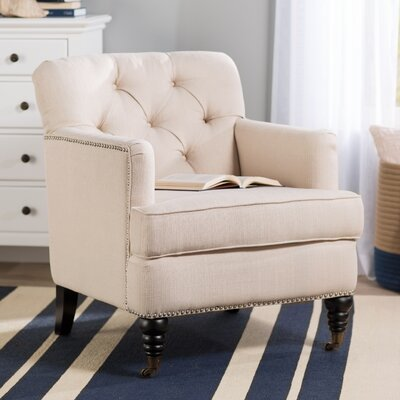 Bonita Springs Armchair Upholstery Color: Oatmeal