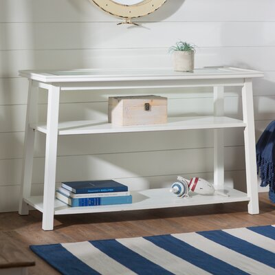 Meagan Console Table Finish: Linen