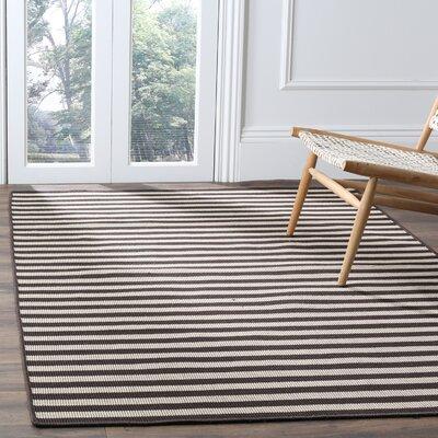 Verde Ivory/Brown Indoor/Outdoor Area Rug Rug Size: Rectangle 5 x 8