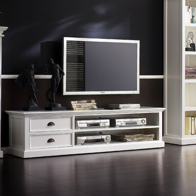 Amityville Modern 71 TV Stand Width of TV Stand: 18 H x 71 W x 81