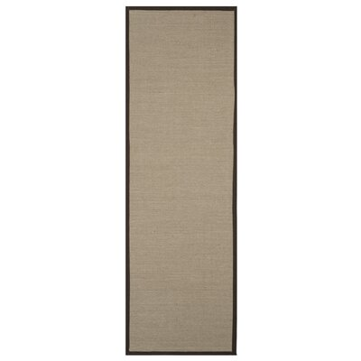 Ruthwell Sage/Brown Area Rug Rug Size: Runner 26 x 8
