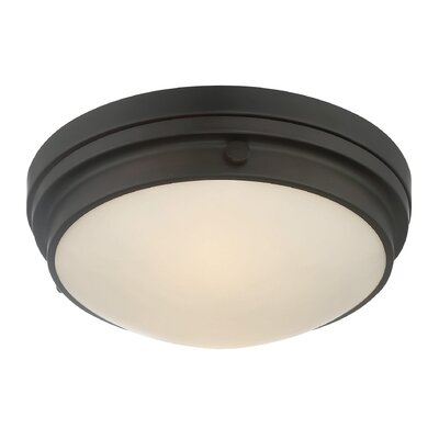 Kinross 3-Light Flush Mount Finish: English Bronze