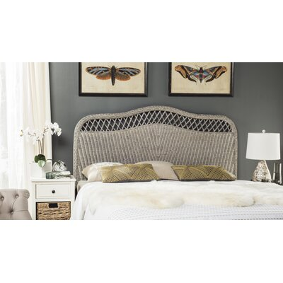 Gordon Panel Headboard Finish: Antique Gray, Size: Queen