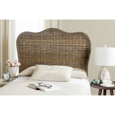 Bendel Panel Headboard Finish: Gray, Size: Queen