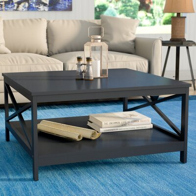 Stoneford Traditional Coffee Table Color: Black