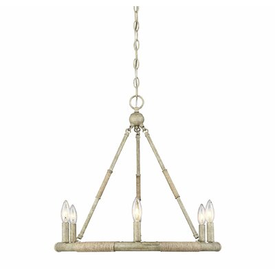 Faustina 6-Light Candle-Style Chandelier