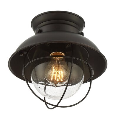 Brookfield 1-Light Flush Mount