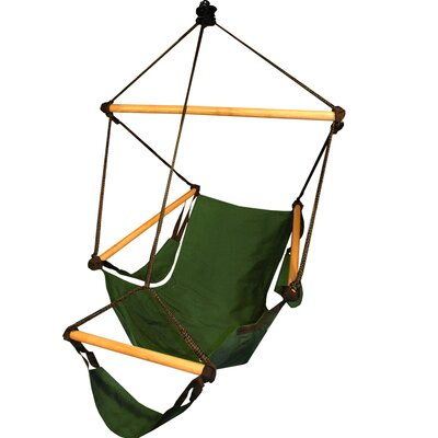 Crowell Polyester Chair Hammock Color: Hunter Green