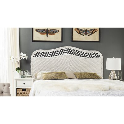 Gordon Panel Headboard Size: King, Finish: White