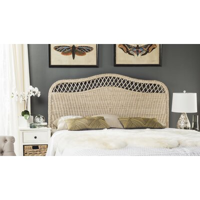 Gordon Panel Headboard Size: Queen, Finish: White Washed