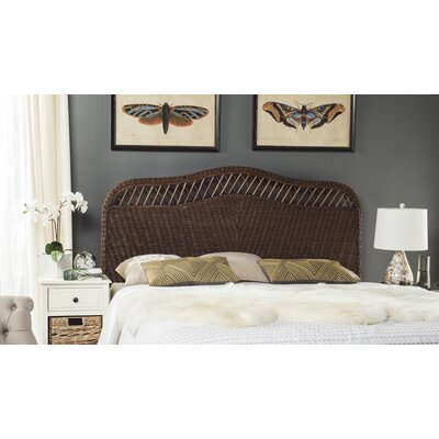 Gordon Panel Headboard Size: King, Finish: Brown