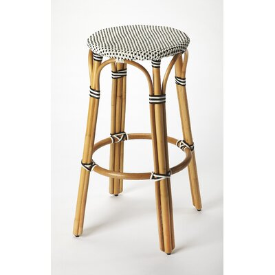Campbellton  point Rattan 30 Bar Stool