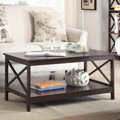 Stoneford Coffee Table Color: Espresso
