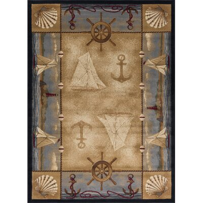 Carson Beige Area Rug Rug Size: Rectangle 4 x 6