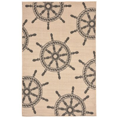 Valero Natural Indoor/Outdoor Area Rug Rug Size: Rectangle 410 x 76