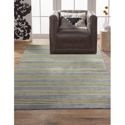 Luciana� Light Blue/Green/Ivory Area Rug Rug Size: 710 x 112