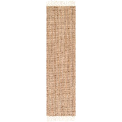 Lyndsey Hand-Woven Brown Area Rug Rug Size: Runner 26 x 10