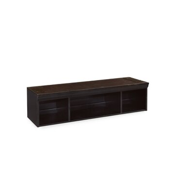 Baileyville Black Storage Entertainment Center