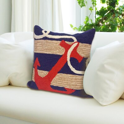 Walton Anchor Throw Pillow