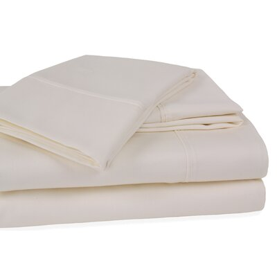 Orleans 300 Thread Count Cotton Sheet Set Size: California King, Color: Ivory